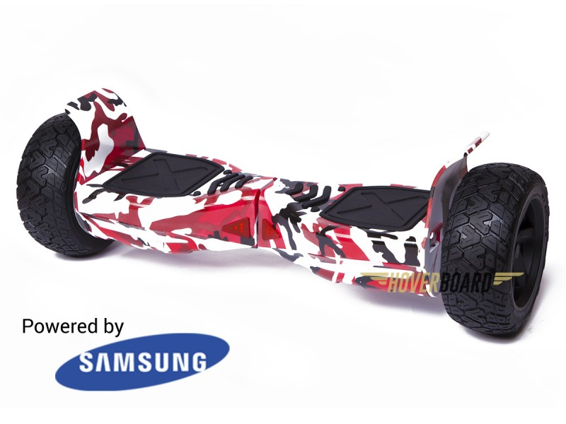 Drifter Red Urban Camo by HOVERBOARD