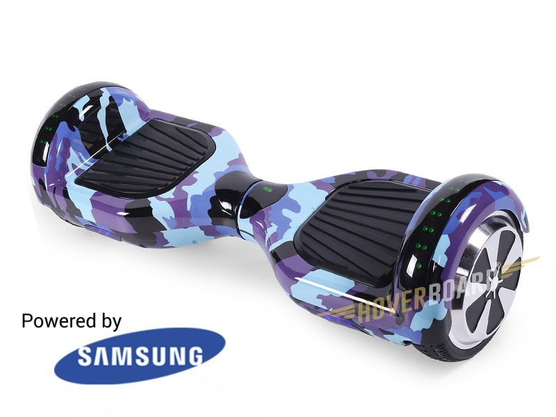 FLY Plus Urban Blue Camo by HOVERBOARD