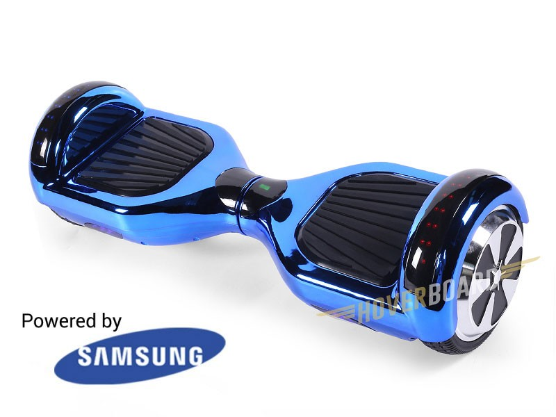FLY Plus Blue Chrome BY HOVERBOARD