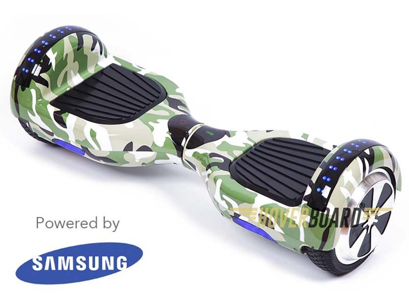 FLY Plus Urban Green Camo By HOVERBOARD