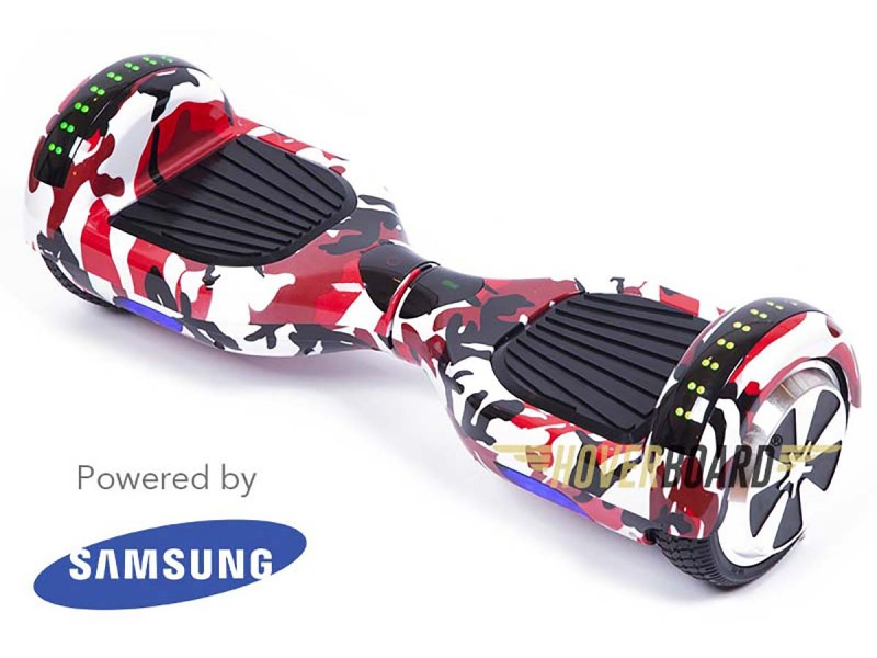 FLY Plus Urban Red Camo By HOVERBOARD