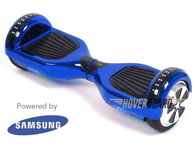 FLY Plus Blue Chrome Hoverboard