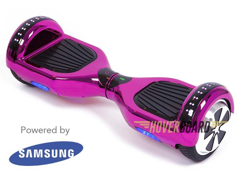 FLY Plus Pink Chrome Hoverboard