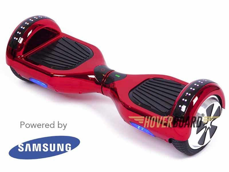 FLY Plus Red Chrome Hoverboard