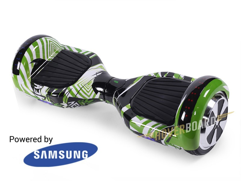 Fly Plus Green Flash By HOVERBOARD
