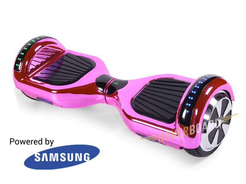FLY Plus Pink Chrome BY HOVERBOARD