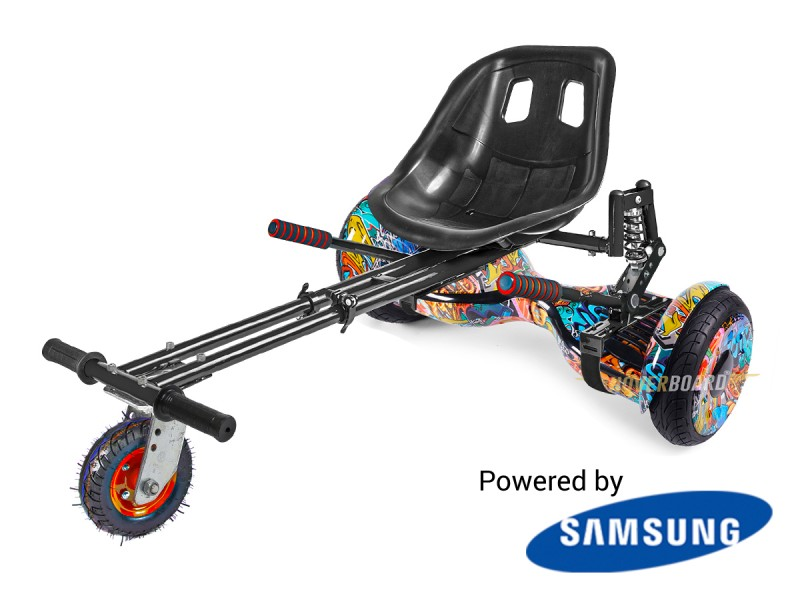 Monster with Suspension Kart By HOVERBOARD