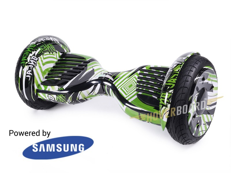 Monster Green Flash By HOVERBOARD