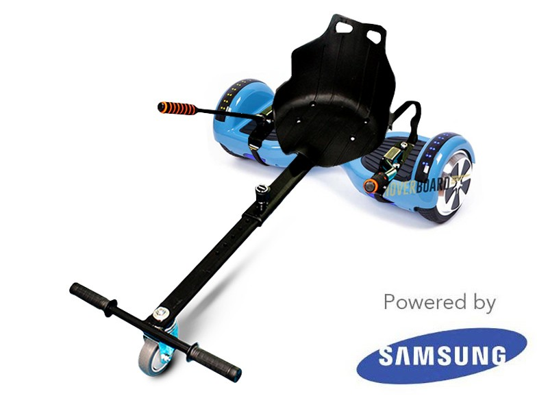 Vanguard Baby Blue and Kart By HOVERBOARD