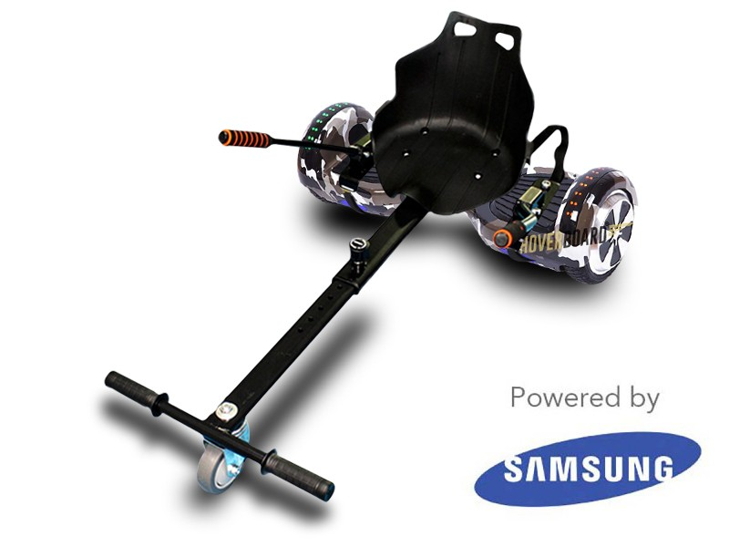 FLY Plus Urban Retro Camo and Kart By HOVERBOARD