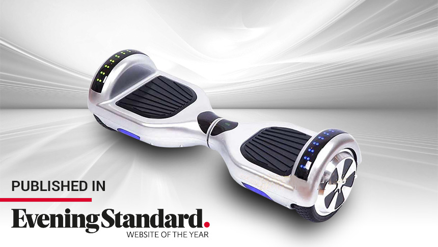 Hoverboards Featured in National Press