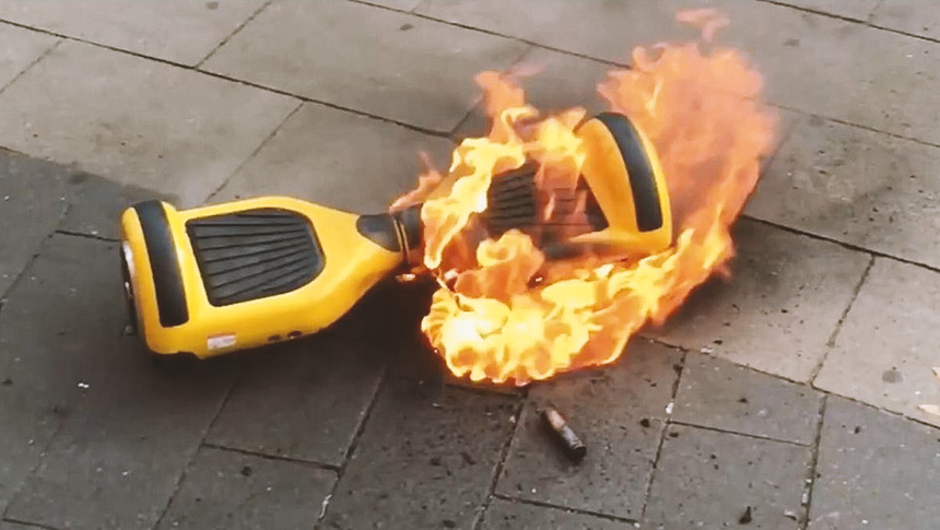 HOVERBOARDS Do They Explode?