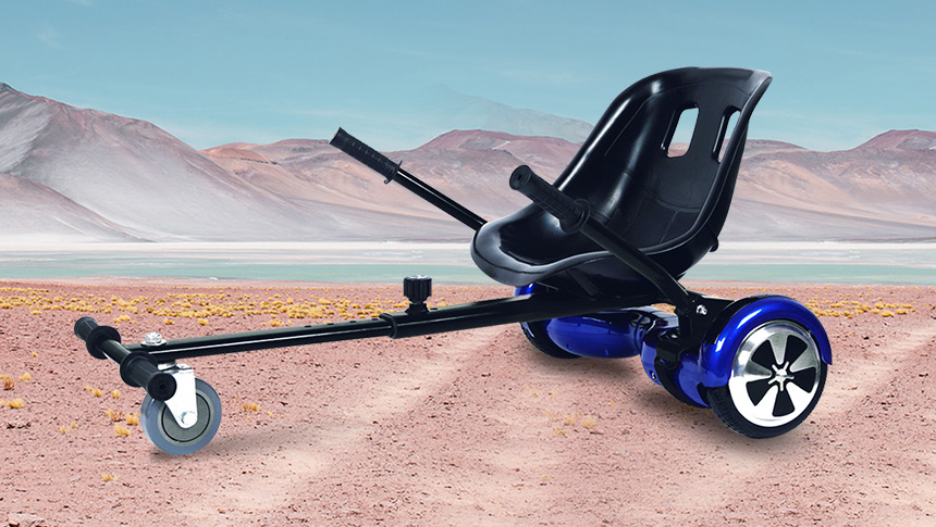 Transform Your Balancing Scooter into a Hoverkart