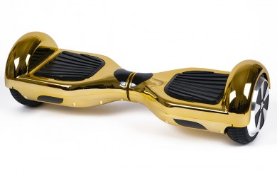 FLY PLUS by HOVERBOARD<sup>&reg;</sup>  Gold Chrome