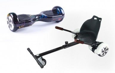 Fly plus Hoverboard with Kart