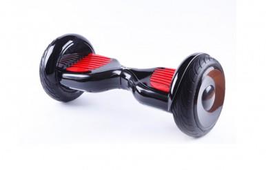 Monster Black/Red Hoverboard