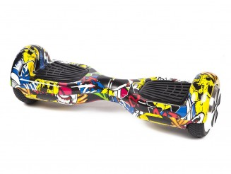 Fly Plus Urban Graffiti By HOVERBOARD