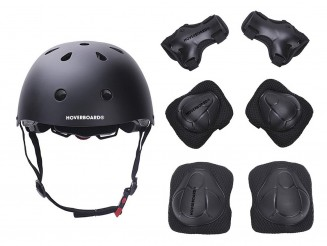 Protective Gear Safety Helmet Knee Elbow Pad Set by HOVERBOARD