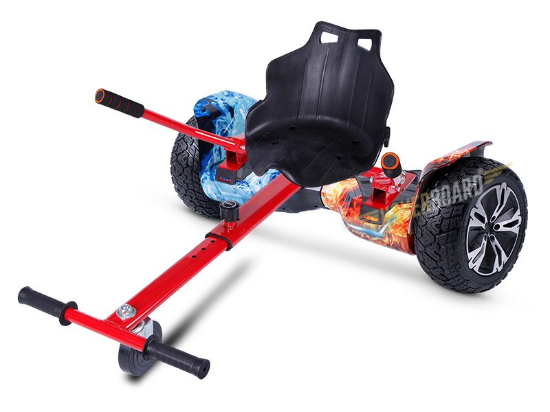 Drifter Pro With Red Classic Kart By Hoverboard