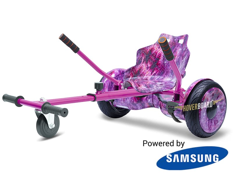Monster Pink Galaxy with Pink Galaxy Kart By HOVERBOARD