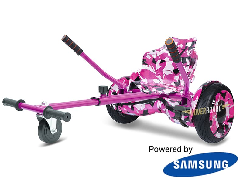 Monster Pink Camo with Pink Camo Kart By HOVERBOARD