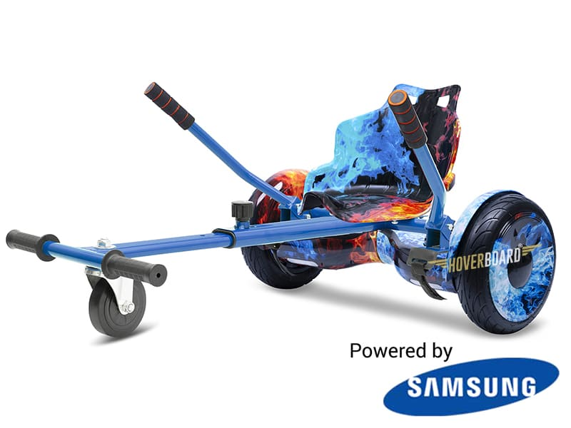 Fire Monster with Fire Kart By HOVERBOARD