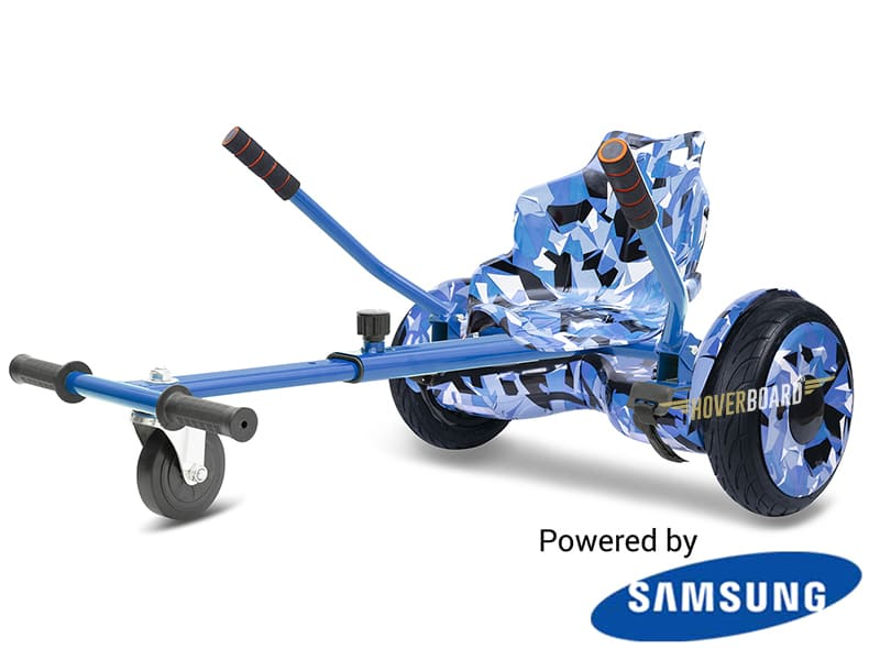 Monster Blue Camo with Blue Camo Kart By HOVERBOARD