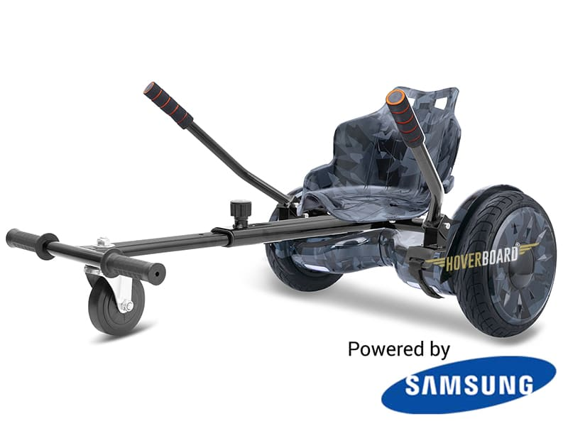 Monster Black Camo with Black Camo Kart By HOVERBOARD