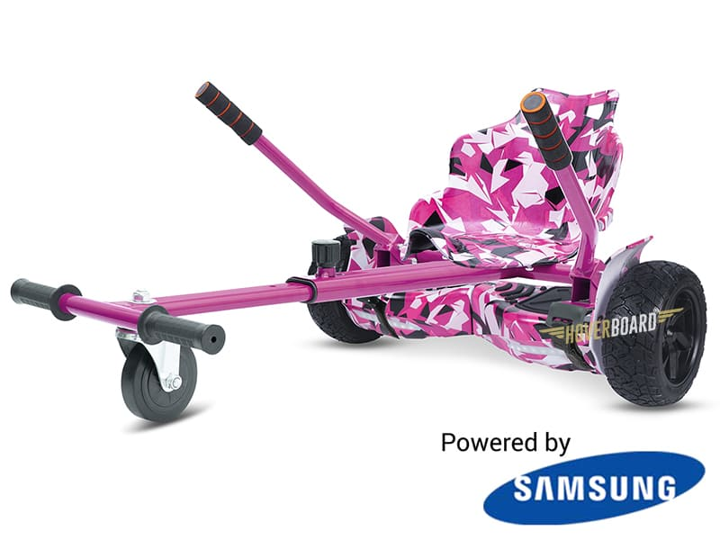 Drifter Pink Camo With Pink Camo Kart By HOVERBOARD