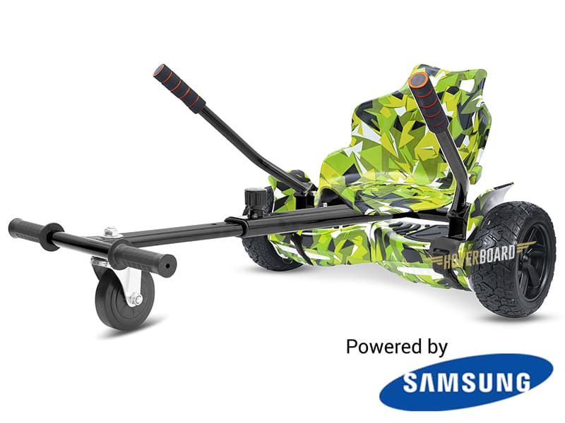Drifter Green Camo with Green Camo Kart By HOVERBOARD