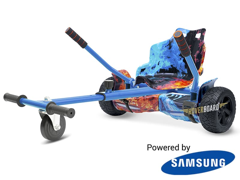 Drifter Fire with Fire Classic Kart By HOVERBOARD