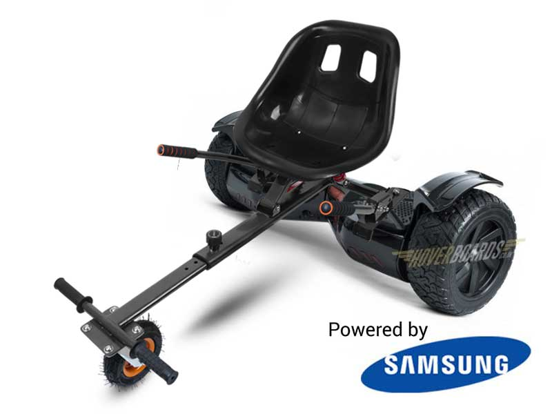 Drifter Plus With Suspension Kart by Hoverboard
