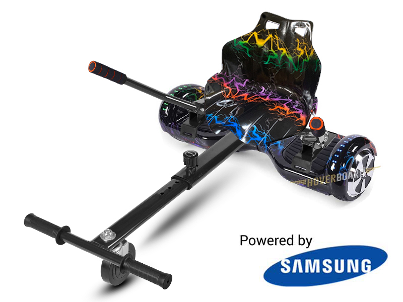 Fly Plus Electricity with Electricity Hoverkart  By Hoverboard