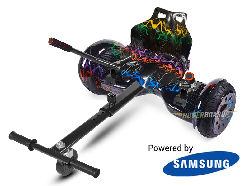 Monster Electricity With Electricity Kart By Hoverboard