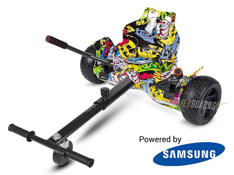 Drifter Urban Graffiti With Urban Graffiti Kart By Hoverboard