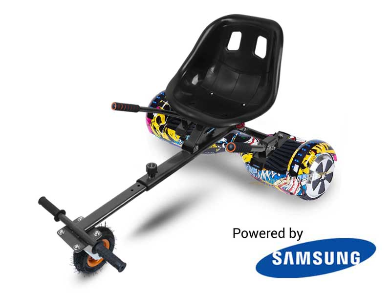 Fly Plus With Suspension Kart By HOVERBOARD